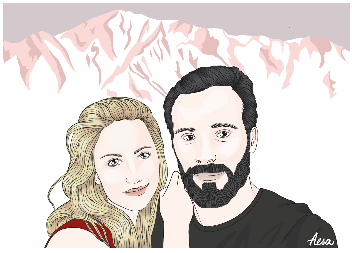 Illustration Pro Pauline et Bobby