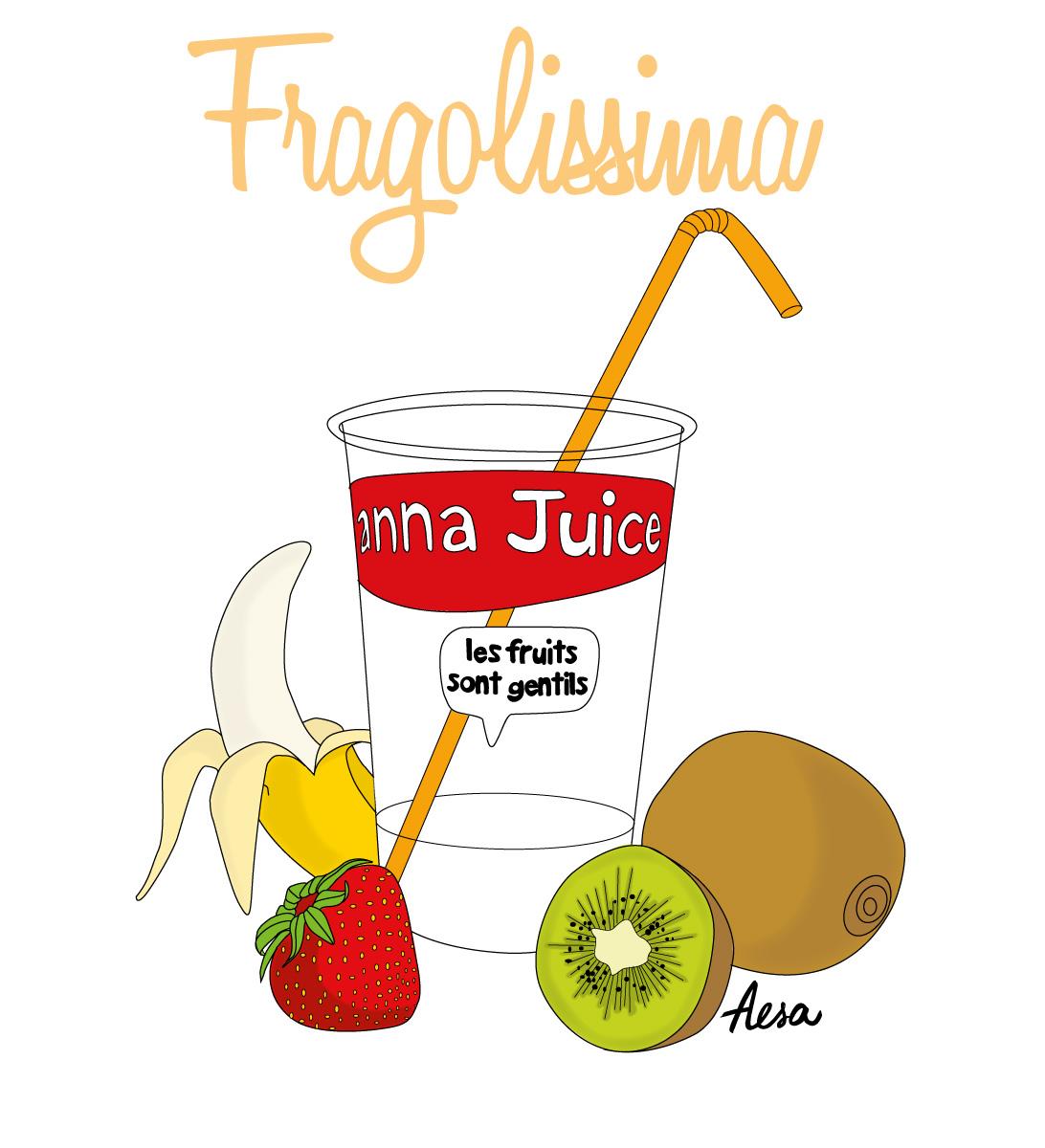 Illustration Pro Fragolissima